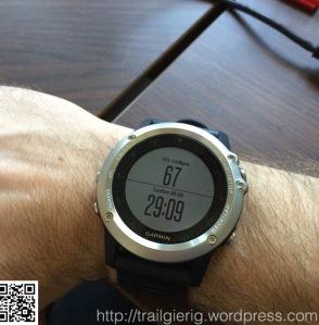 Sonderseite bei Trainings (HF und Countdown)