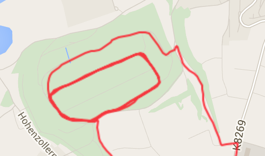 Track der Fenix3