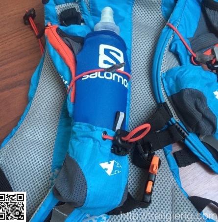 Salomon 500ml Softflasks passen leidlich