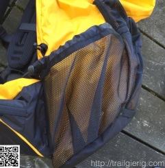 große Mesh Seitentaschen