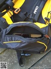 """geräumige Hüfttasche mit 5"""" Smartphone"""