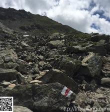 Abstieg zum Gafiersee