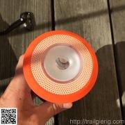 Optik der Taschenlampe